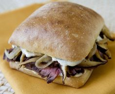 Steak Sandwich with Horseradish Mayo