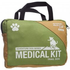 The Adventure Medical Kits ADS Trail Dog first aid kit gives you comprehensive dog-specific medical solutions for your trail buddy. Available at REI, Satisfaction Guaranteed. Tick Removal, Medication For Dogs, Dog Dental Care, First Aid Kit, Dog Paws, Survival Kit, Camping Survival, Your Dog, Reusable Tote Bags