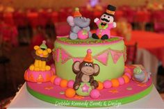 Pink & Orange Circus Birthday Party Ideas   Photo 6 of 19   Catch My Party