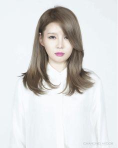 Chic Body Perm #long #hair #beauty #cut #chahongardor