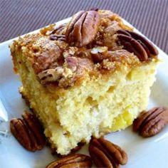 Pecan Pineapple Coffee Cake - Allrecipes.com