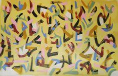 "Reflex - Acrylic on Canvas - 46""×29"""