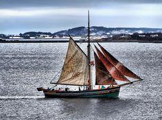 Norway sailboat