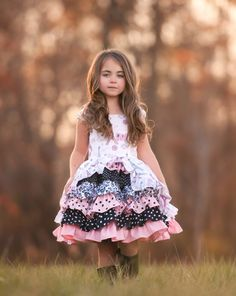 Take me to Paris girls princess party dress by SoSoHippo on Etsy