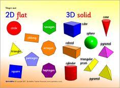 Shapes mat (SB918) - SparkleBox