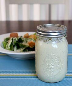 Classic Caesar Salad Dressing Recipe