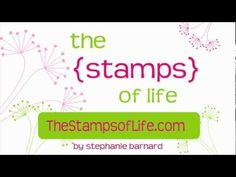 The Stamps of Life: New Embossing Folder and Matching Framelits!