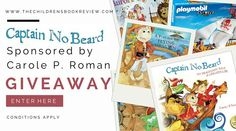 Captain No Beard Series, by Carole P. Roman | Giveaway : The Childrens Book Review