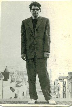 https://flic.kr/p/7Qur3s | allen ginsberg, poet. 1954 | san francisco photo by chester kessler. city lights books.