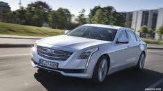 2017 Cadillac CT6 (Euro-Spec) - Front Three-Quarter - Picture # 26
