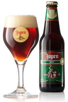 Jopen bokbier: beer from Brewery and restaurant in Haarlem, The Netherlands Whisky, I Like Beer, Dark Beer, Beer Brewery, Beer Brands, Beer Packaging, Tequila, Beer Label, Wine And Beer