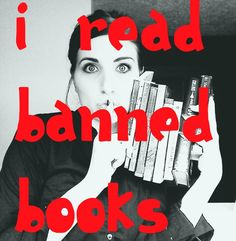 Banned Book Week-celebrate your right to read!! :D #sosb