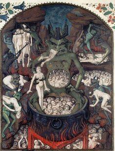 Bibliothèque nationale de France, Français 28, f. 249v. St. Augustine, De civitate dei (translation of Raoul de Presles). Rouen, 3rd quarter of the 15th century.