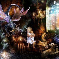 Dragons illustration artwork (18)
