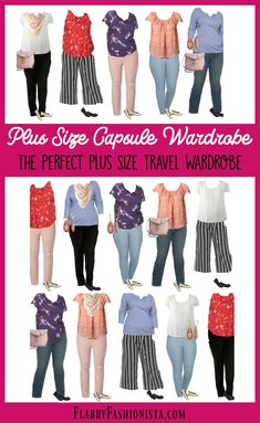If you've thought about creating a Plus Size Capsule Wardrobe, this is for you! These pieces will also make the perfect plus size travel wardrobe. Source by flabfashionista clothing plus size Plus Size Capsule Wardrobe, Fall Capsule Wardrobe, Travel Wardrobe, Work Wardrobe, Wardrobe Ideas, Professional Wardrobe, Capsule Outfits, Wardrobe Basics, Work Outfits