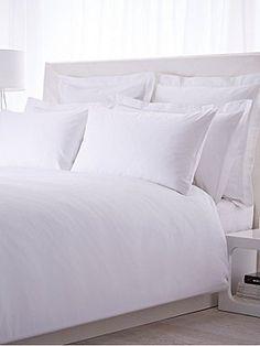 500 thread count white bed linen range