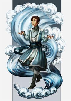 Lance. Magic AU Pidge