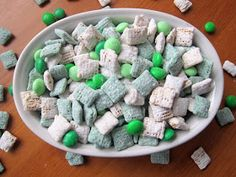 Seven Lanes: St Patrick's Day Puppy Chow