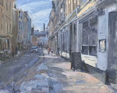 The Barbican, Plymouth Painting, Paiting, Oil Painting, Artwork