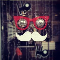 #Movember #Eyewear Window- Optometrist window, Chiswick