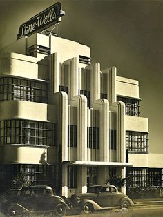 The Lane-Wells Company Building at 610 South Soto Street in Highland Park, Los Angeles (1939). It still stands.