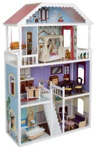 Amazon.com: KidKraft Savannah Dollhouse: Toys & Games