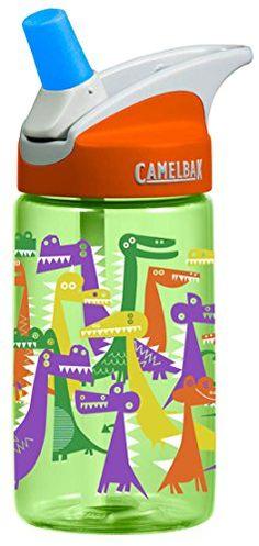 CamelBak Kid's Eddy Water Bottle, Dino Party, .4-Liter