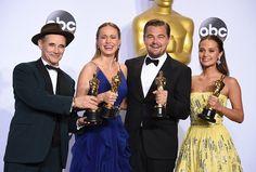 Leonardo Di Caprio won his first Oscar for 'The Revenant'
