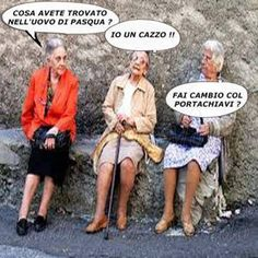 Italian Memes, Italian Quotes, Crazy Birthday Wishes, Famous Phrases, Funny Times, Have A Laugh, Getting Old, Vignettes, I Laughed