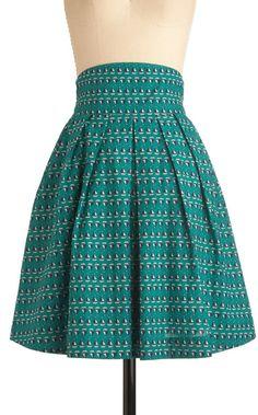Sail We Dance Skirt - Lyst