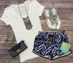 The Pop of Style Shorts are fabulous for the warmer months! These cuties feature…
