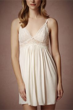 Ethereal Chemise in Lingerie Chemises & Robes at BHLDN