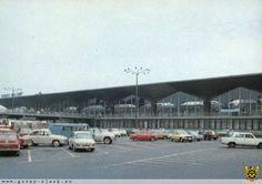 Railway Station till 2010. Brutalist Architecture Style. Katowice, Poland