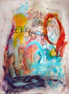 Judy Wise chaos paintings #abstract