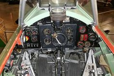 DAYTON, Ohio -- Hawker Hurricane cockpit in the Early Years Gallery at the National Museum of the United States Air Force. (U.S. Air Force photo)