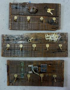 porta llaves porta llavero rústico para colgar