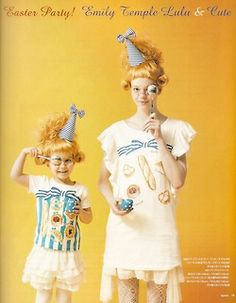 Spoon Magazine -Easter Party! Emily Temple Lulu & Cute
