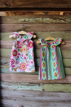 Navajo Floral Ruffle Neck Beach Dress baby by plainjanesstore, $15.00