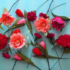 Flora Nordica (@_flora__nordica_) • Фотографије и видео записи на услузи Instagram Flora, Crepe Paper Flowers, Paper Art, Rose, Plants, Instagram, Papercraft, Pink, Plant