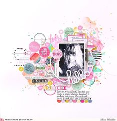 DT layout for @paigetaylorevans featuring her awesome 30-page Sticker Book & her Hello Circle Frame cut file #paigeevans #paigeevansdt #paigeevansturnthepage #paigeevansohmyheart @shimmerzpaints #shimmerzpaints #shimmerz #scrapbooking #scrapbooklayout #mixedmedia #cutfiles #diecuts #digitalcutfiles #diecutting #diecuttingmachine #silhouettecameo #silhouette #cameo #papercrafts #papercrafting