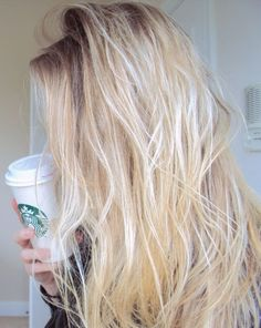 Think Long Bleach Blonde Hair | 24 Inch Full Head Clip in Extensions | £54.99 | Visit: http://www.cliphair.co.uk/24-Inch-Full-Head-Set-Clip-In-Hair-Extensions-Bleach-Blonde-613.html