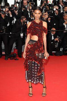Model Liya Kebede Wears Proenza Schouler at Cannes-Wmag