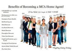Become a Motor Club Of America Home Agent for free or just get the membership at a low price ,wanna now how. Just go to this site http://www.tvcmatrix.com/sjohnson357