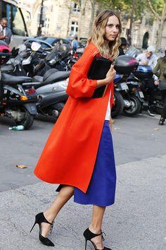 Неделя моды в Париже S/S 2015: street style. Часть I (фото 21)