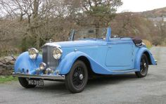 1935 Bentley 3 1/2 Litre Barker Drophead Coupe B168EF