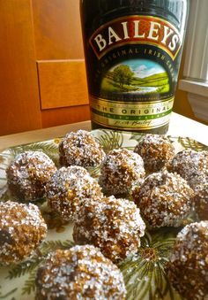 Bailey's Balls! (No Bake) - UPDATE:  these were tasty, but VERY rich.  Would make for a party, rather then to have around the house