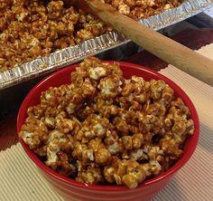 Homemade Cracker Jacks Recipe |  whatscookingamerica.net  #crackerjacks #popcorn #caramel #caramelcorn #candy