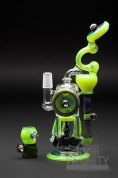 Vertigo glass recycler