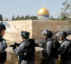 به+دنبال+اعلام+«جمعه+خشم»+از+سوی+فلسینیها+صدها+نیروی+نظامی+اسرائیلی+در+قدس+مستقر+شدند