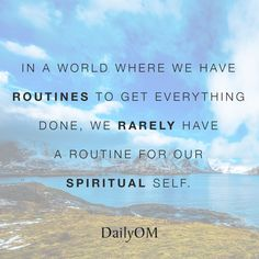 #DailyOM #quotes Spiritual Awareness, Spiritual Health, Well Being Definition, Humility, Forgiveness, Daily Routine Schedule, Healthy Lifestyle Motivation, Holistic Approach, Inspirational Thoughts
